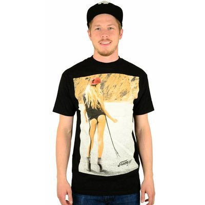 Famous Stars and Straps Hitchhiker T-Shirt Black