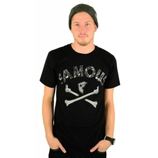 Famous Stars and Straps Guilty Bones Premium T-Shirt Black