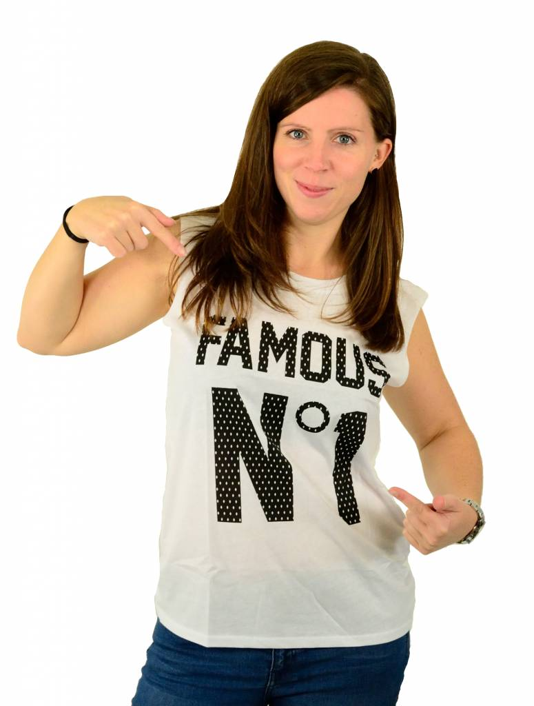 Famous Stars and Straps Game Over Muskel T-Shirt White