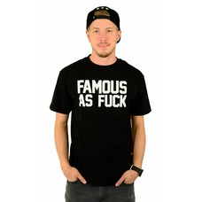 Famous Stars and Straps FAF T-Shirt Black