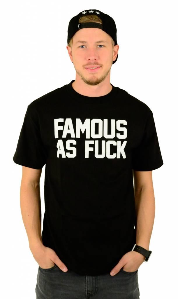 Famous Stars and Straps FAF T-Shirt Black