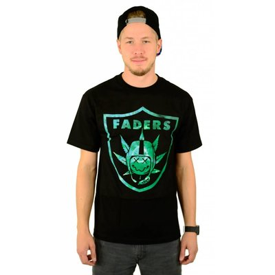Famous Stars and Straps Faders T-Shirt Black