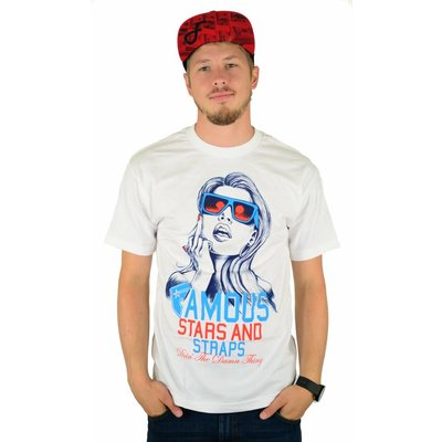 Famous Stars and Straps F N Right T-Shirt White