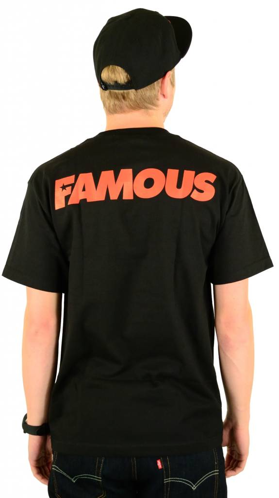 Famous Stars and Straps Disturbing the Police T-Shirt Black