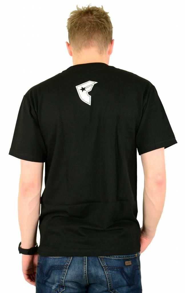 Famous Stars and Straps Demon T-Shirt Black/White