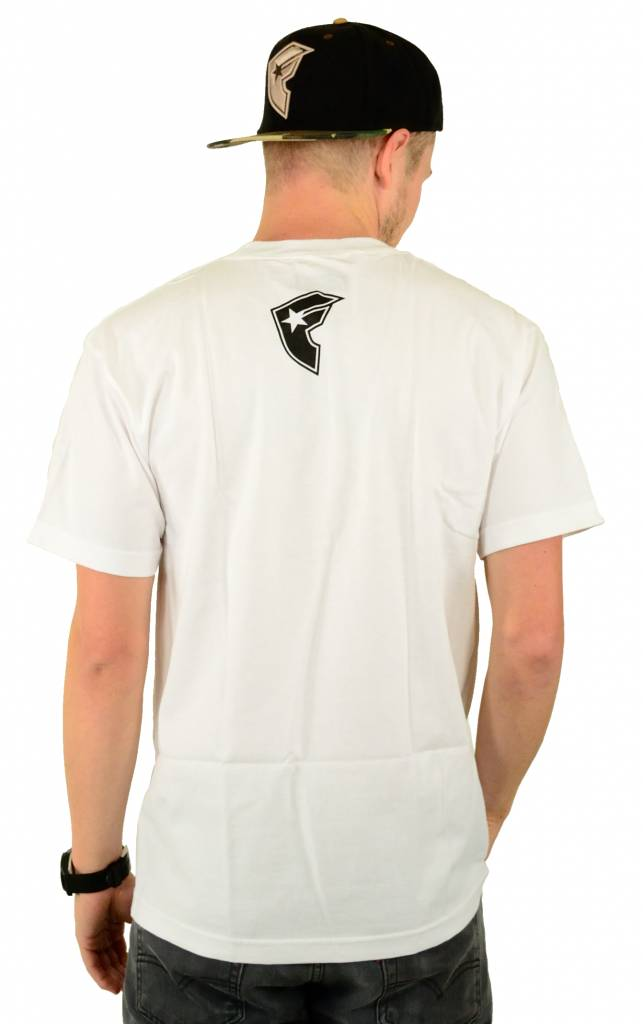 Famous Stars and Straps Calibear Steppin T-Shirt White