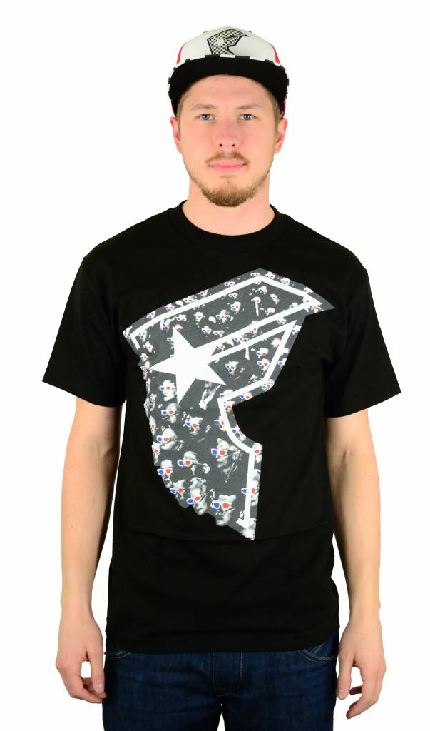 Famous Stars and Straps At The Movies T-Shirt Black