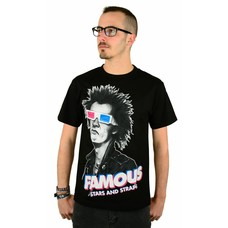 Famous Stars and Straps 3D Spike T-Shirt Black