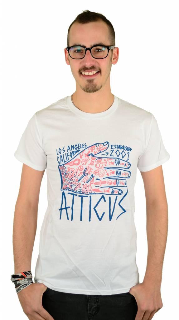 Atticus Clothing Tattoo Hand T-Shirt White