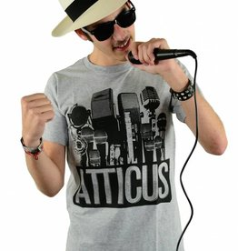 Atticus Clothing Micline T-Shirt Heather Grey