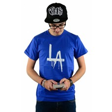 Atticus Clothing LA Drip T-Shirt Royal Blue