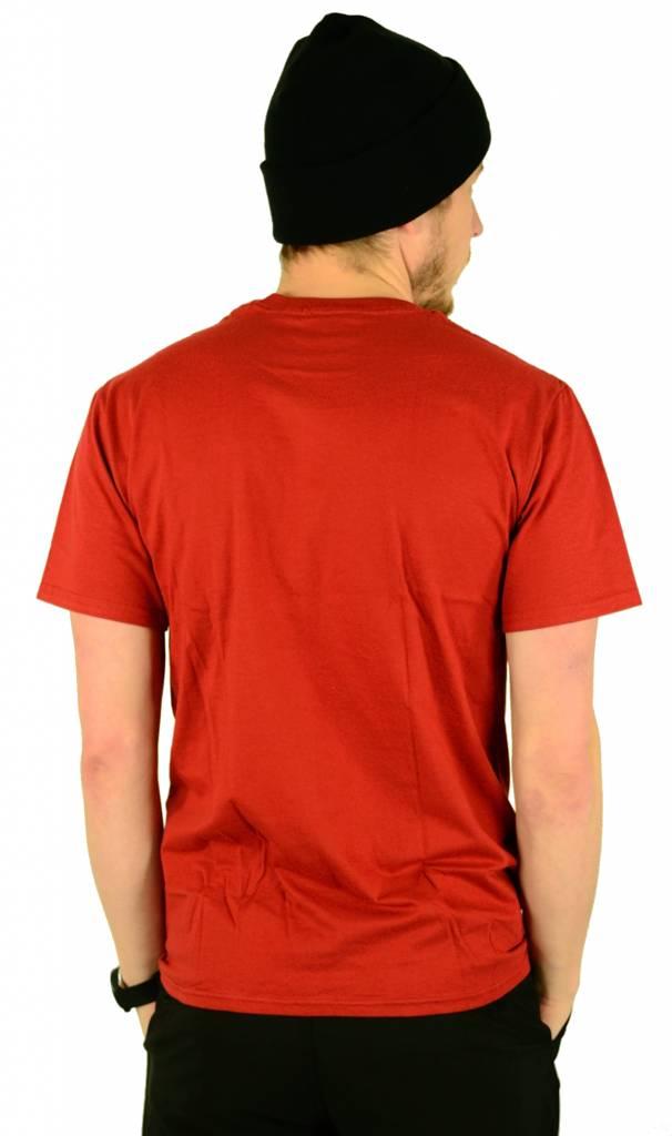 Atticus Clothing Gravestone T-Shirt Maroon