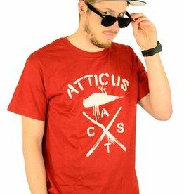 Atticus Clothing Crossbird T-Shirt Maroon
