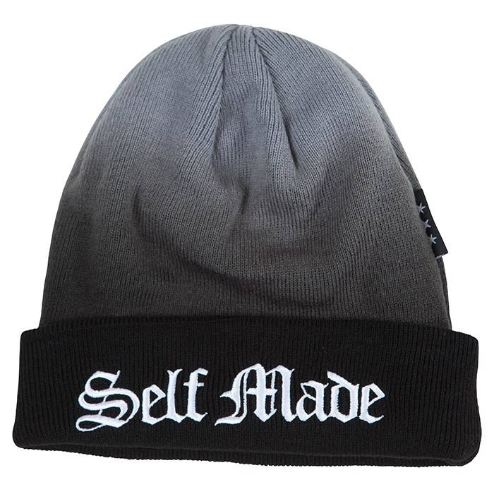 Famous Stars and Straps Self Made Dip Beanie Heather Grey