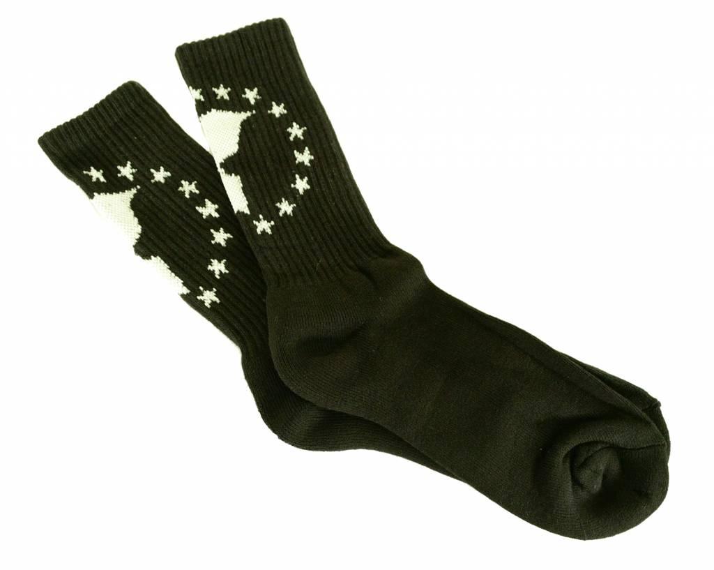 Famous Stars and Straps Unity Socks Black