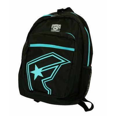 Famous Stars and Straps The Half Backpack Black / Lux Blue