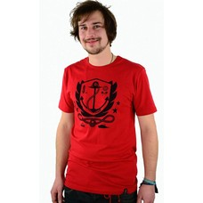 Atticus Clothing Aweigh Slim T-Shirt Red