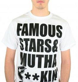 Famous Stars and Straps MFS T-Shirt White/Black