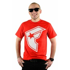 Famous Stars and Straps OG Boh T-Shirt Red/White