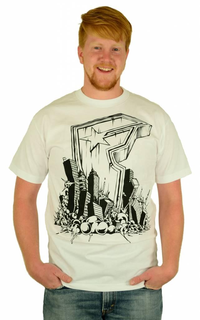 Famous Stars and Straps Doomed T-Shirt White/Black