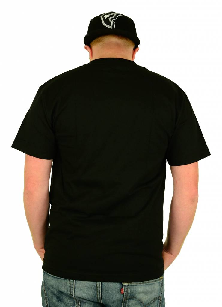 Famous Stars and Straps Drips Boh T-Shirt Black/Grey/Turquoise