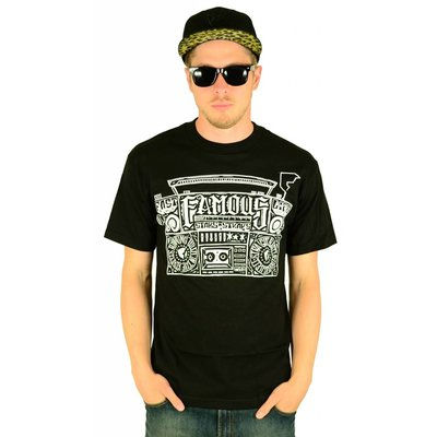 Famous Stars and Straps Loud in the Streets T-Shirt Black