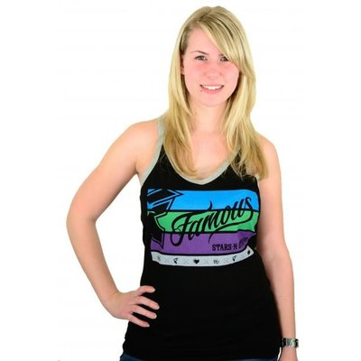 Famous Stars and Straps Barnone Lucky Tank Black