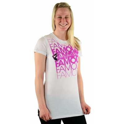 Famous Stars and Straps Compact Crew-Neck T-Shirt White