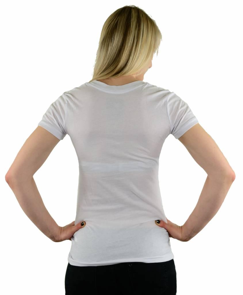 Famous Stars and Straps Comet V-Neck T-Shirt White