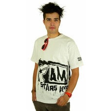 Famous Stars and Straps Big Crush T-Shirt White/Black