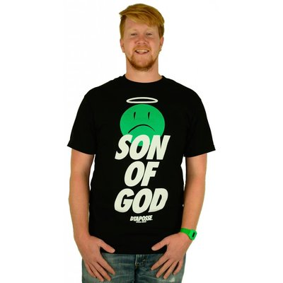 DTA Rogue Status Son of God T-Shirt Black/White/Green