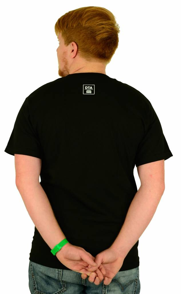 DTA Rogue Status Son of God T-Shirt Black/White/Green