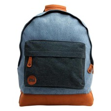 mi-pac Denim Patch Backpack Stonewash/Indigo