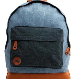 mi-pac Denim Patch Backpack Stonewash/Indigo