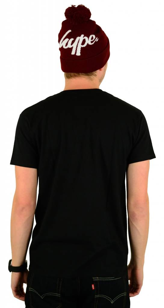 Hype Script T-Shirt Black/White