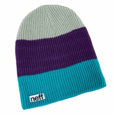 Neff Headwear Trio Beanie Green/Purple/Grey