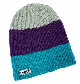 Neff Headwear Trio Beanie Green/Purple/Grey
