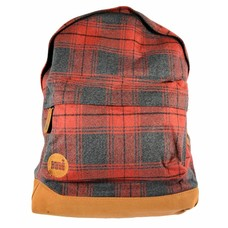 mi-pac Plaid Backpack Red/Plaid