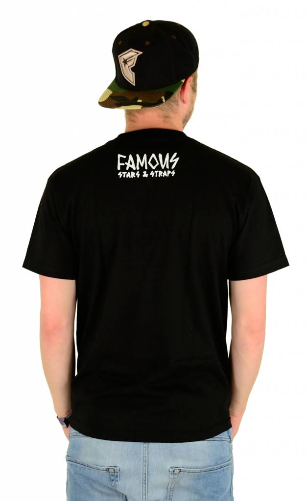 Famous Stars and Straps Get Lost T-Shirt Black