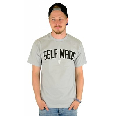 Famous Stars and Straps Motivated T-Shirt Silver