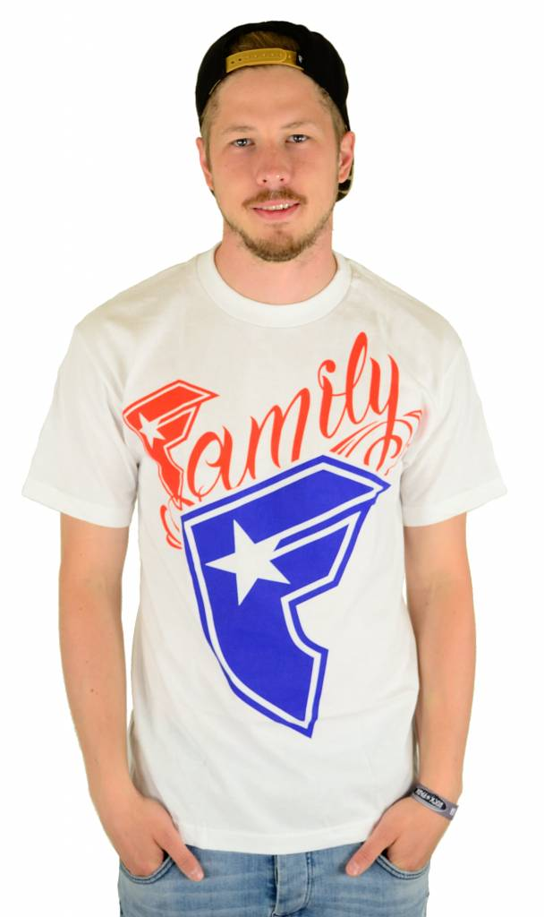 Famous Stars and Straps Big Wildcat T-Shirt White