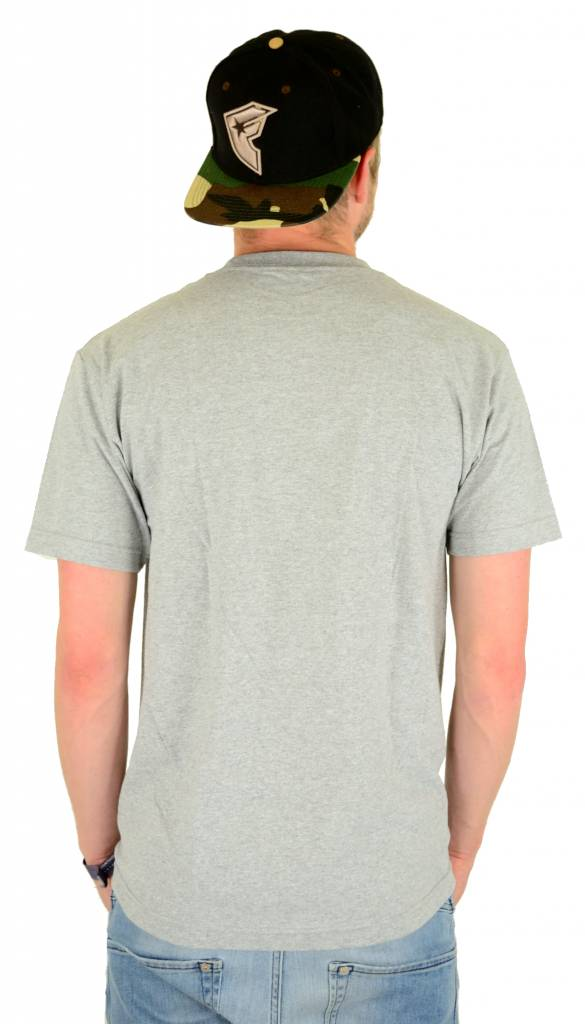 Famous Stars and Straps Tropicali Boh T-Shirt Heather Grey