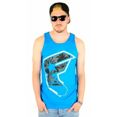 Famous Stars and Straps Tropicali Boh Tank Top Turquoise
