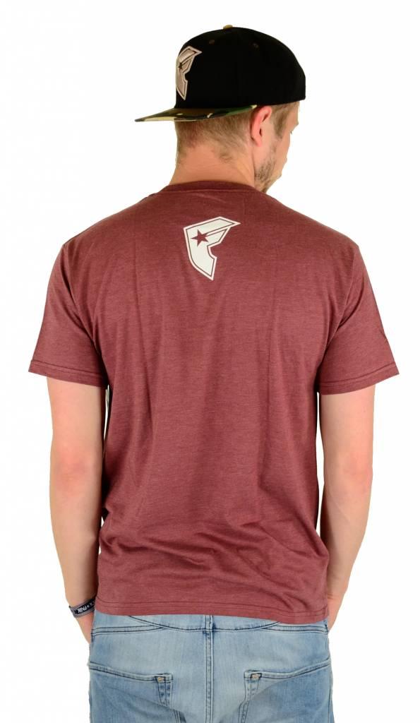 Famous Stars and Straps DGA Premium T-Shirt Burgundy