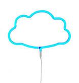 a Little Lovely Company A Little Lovely Company Neon lamp Wolk - Geel / Blauw