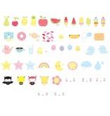 a Little Lovely Company Lightbox aanvullingsset Kawaii Symbolen