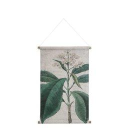 HKliving HK living Botanisch schoolplaat canvas Botanisch M
