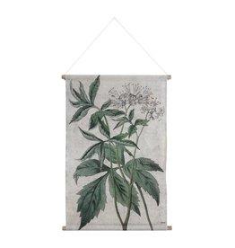 HKliving HK living Botanisch schoolplaat canvas Botanisch L
