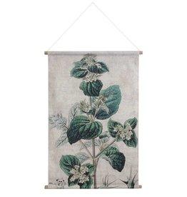 Hk Living HK living Botanisch schoolplaat canvas Botanisch XL
