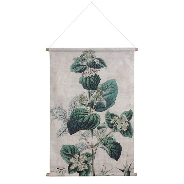 Hk Living HK living Botanisch muurdecoratie, schoolplaat canvas Botanisch - maat XL